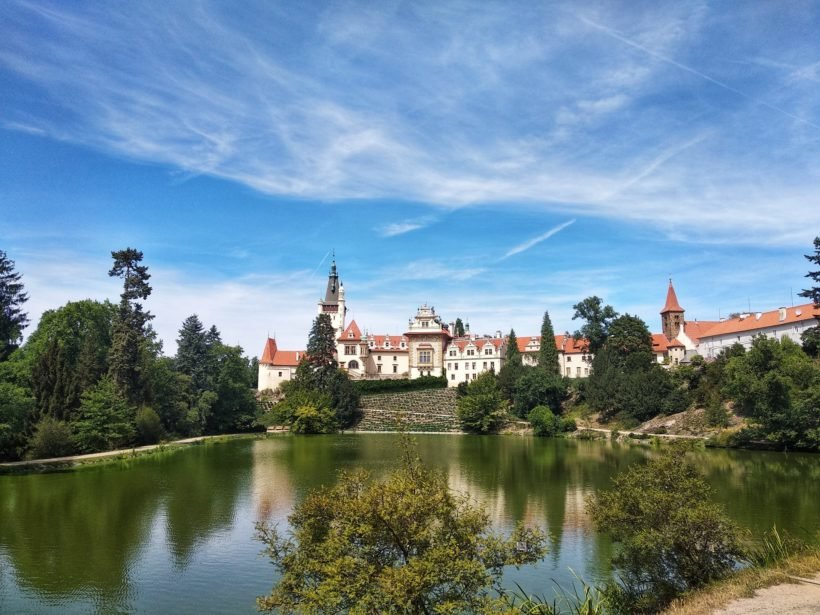 Château et parc de Pruhonice