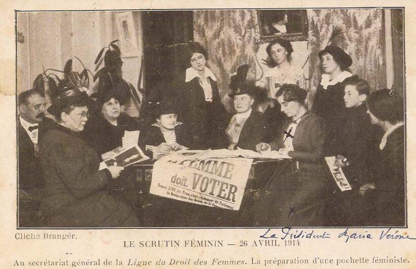 La ligue du Droit de femmes, 1914