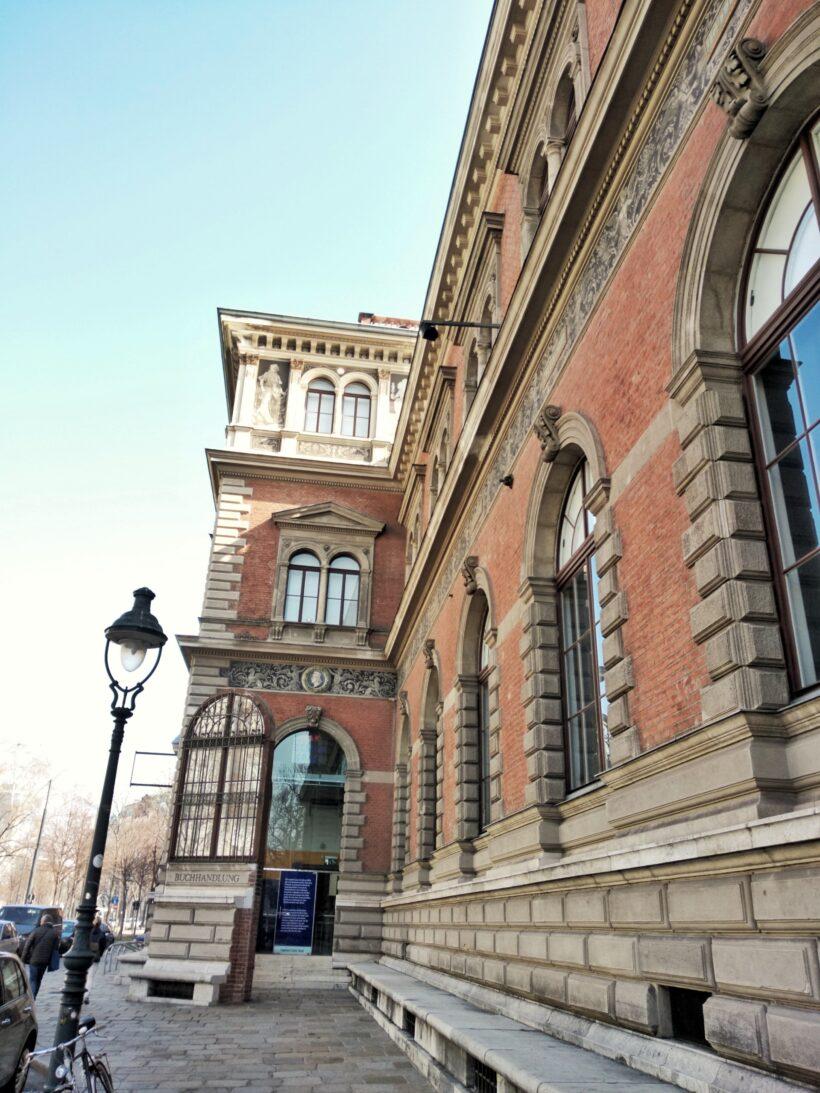 La façade du MAK Vienne