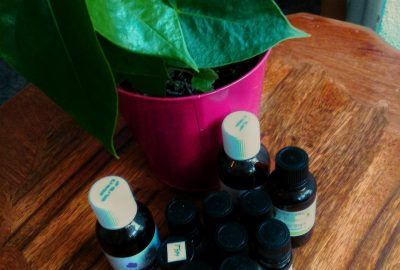 flacons huiles essentielles